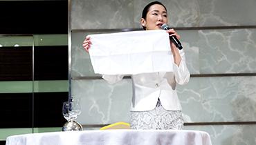 理事長 船田三和子によるマンツーマンカスタマイズ講座